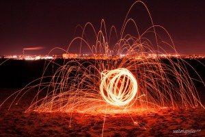 Ball of Fire & The Cityscape