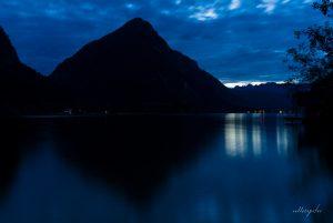 Dark, Mysterious Mountains